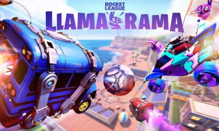 Arranca el evento Llama-Rama de Fortnite y Rocket League