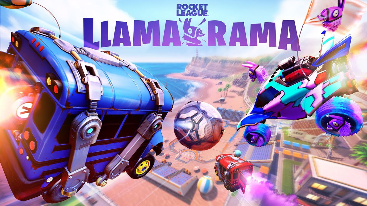 Arranca el evento Llama-Rama de Fortnite y Rocket League