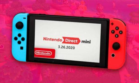 Anuncian Nintendo Direct Mini con novedades para Switch