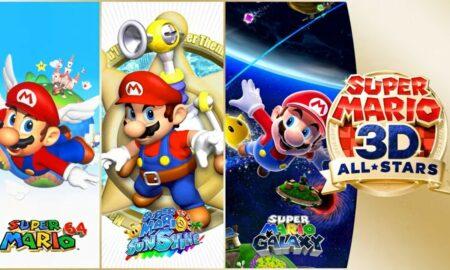 Actualización de lanzamiento para Super Mario 3D All-Stars