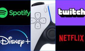 PS5 tendrá servicios de streaming y botones para ellos en su control