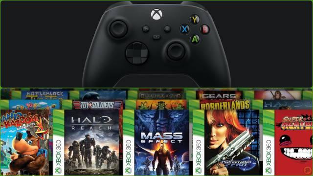 Retrocompatibilidad en Xbox Series X y Series S: conoce las mejoras
