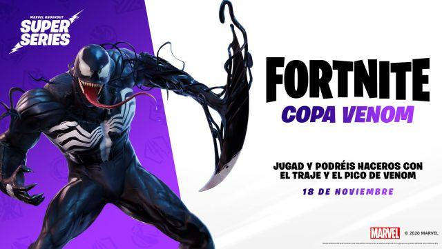 Cómo conseguir el skin de Venom para Fortnite