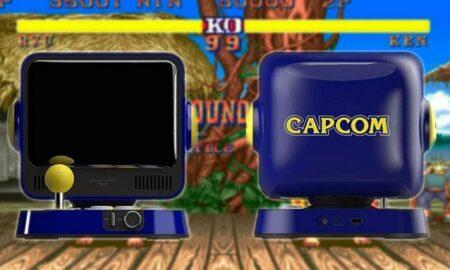 Nueva consola retro de Capcom incluye Street Fighter y Mega Man