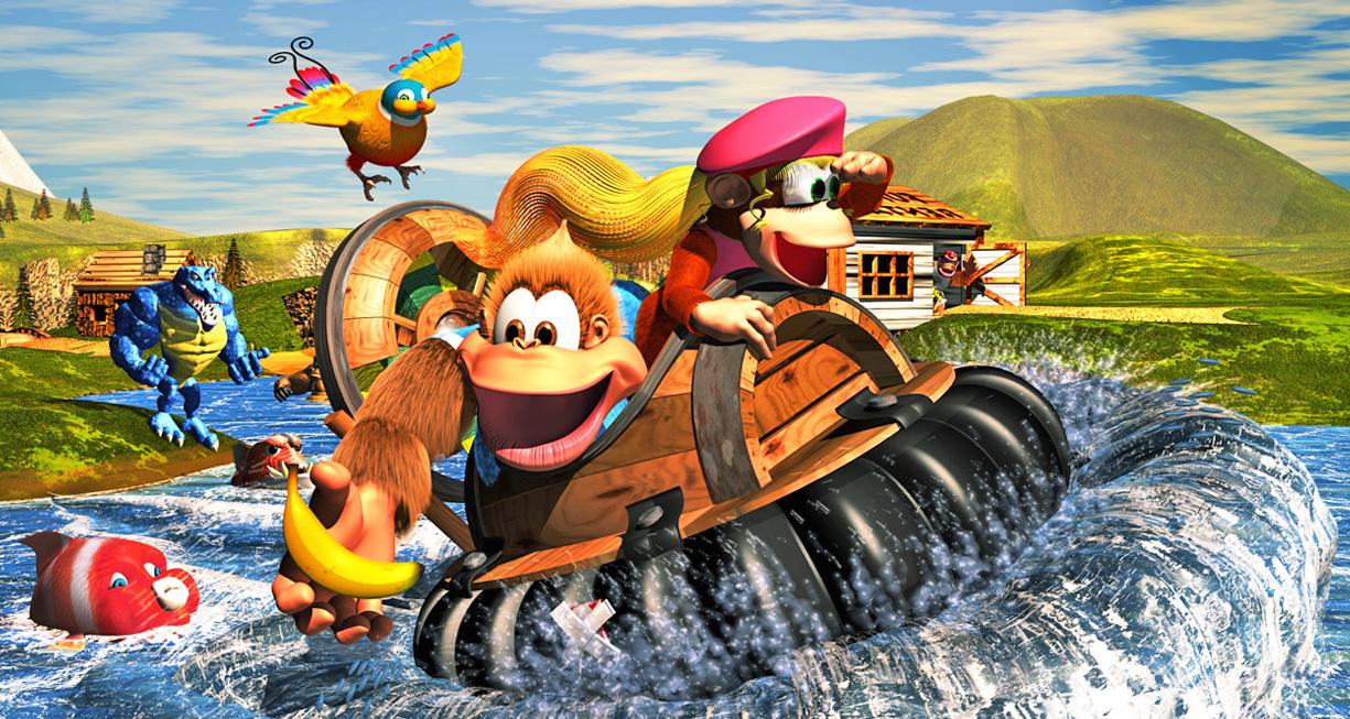 Donkey Kong Country 3 y más juegos llegan a Switch