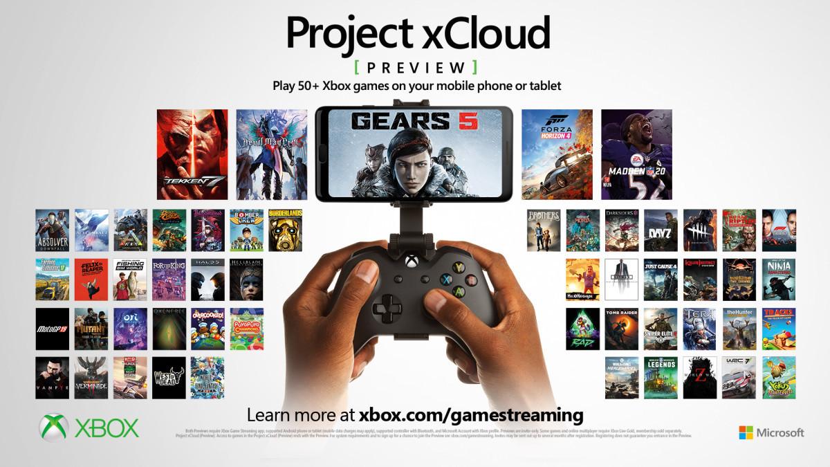 El servicio de streaming de Xbox llegará a iOS y PC en 2021