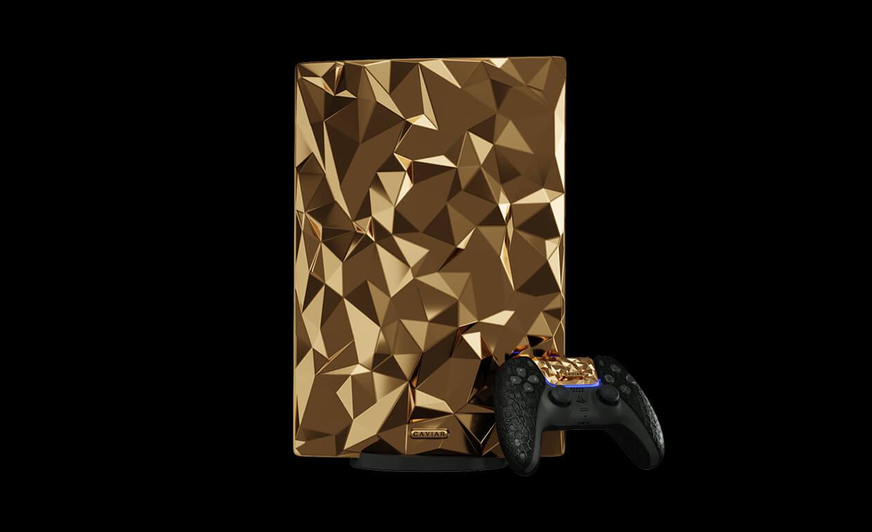 PlayStation 5 lanzará Golden Rock, consola de 20 kg de oro de 18 quilates