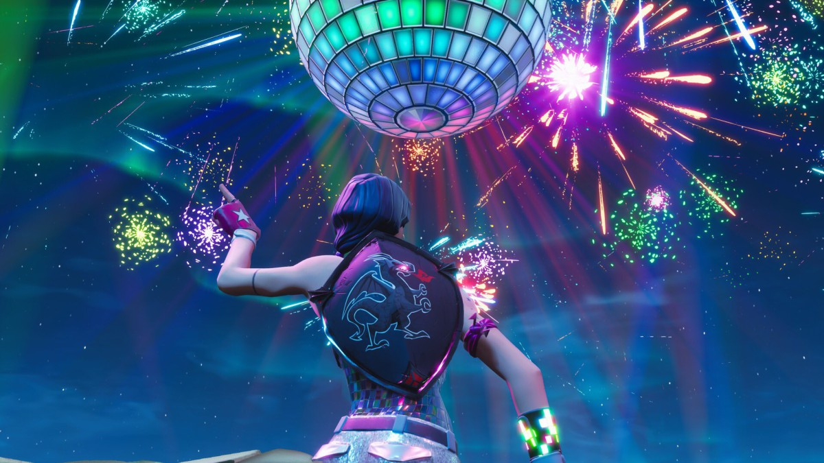 Todo sobre el evento de Año Nuevo de Fortnite