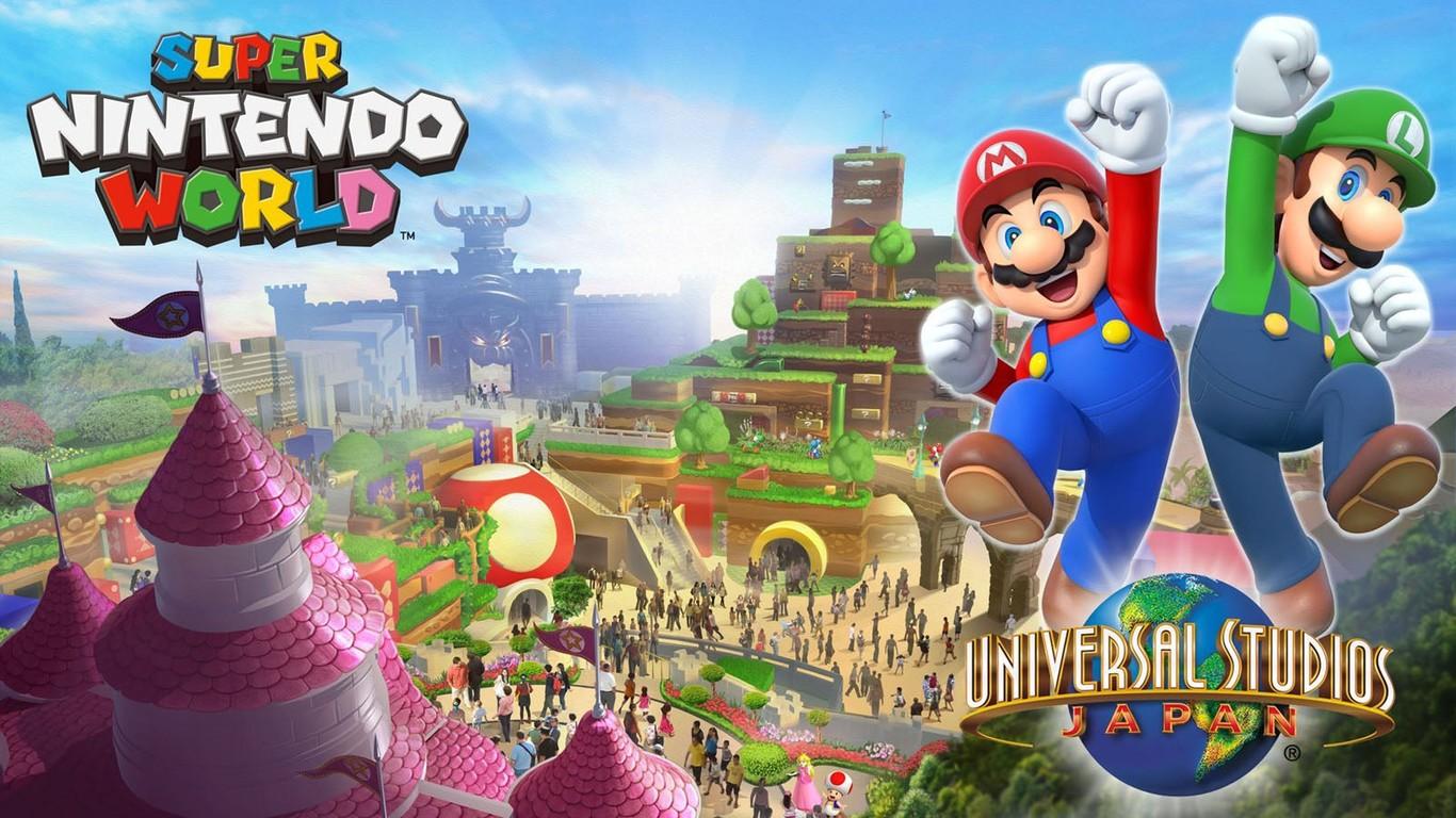 Posponen apertura de Super Nintendo World en Japón por la pandemial