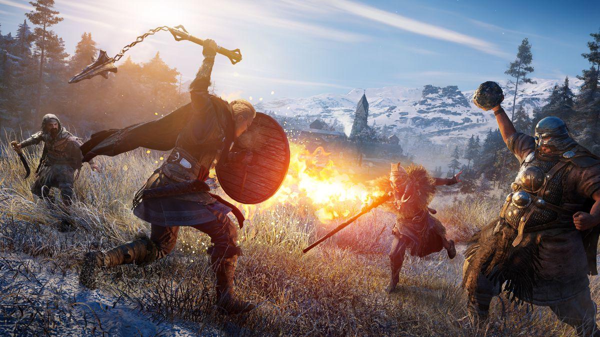 Próxima gran actualización de Assassin's Creed Valhalla agregará transmog
