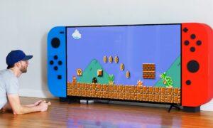 Aquí está el Nintendo Switch más grande del mundo, y sí, sus botones funcionan